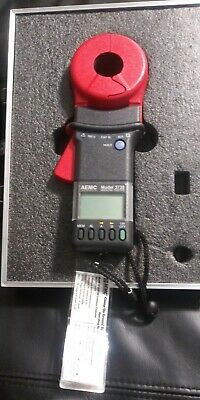 Used, Aemc Model 3710 Clamp-On Ground Resistance Tester-
