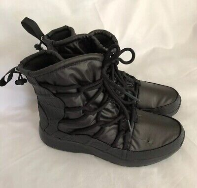 new style 73af7 219e9 Nike Women s Tanjun High Rise Boots AO0355 002 Black-Anthracite Size 8 New