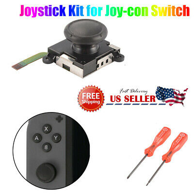 Stick Rocker 3D Analog Joystick Thumb Nintendo Switch Joy-Con Controller OEM USA