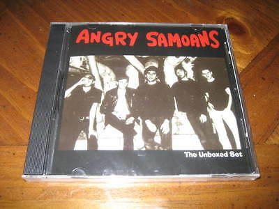 Angry Samoans - the Unboxed Set CD - Hard Rock Punk - Metal Mike Saunders