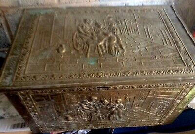 Elegant Old or Antique Wooden Bronze Box Very Nice Conditions Amazing Boxes