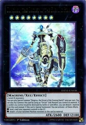 Dingirsu, the Orcust of the Evening Star (DANE-EN038) - Ultra Rare - 1st Edition