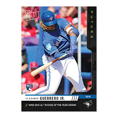 TOPPS NOW Future Pack: 2019 Award Winners PICK YOUR WINNERS CHANCE AT AUTOS 1/1