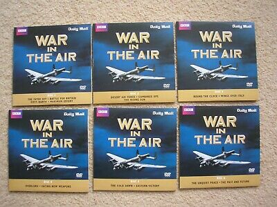 BBC WWII The War in the Air full six set of DVD