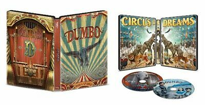 Dumbo Steelbook (4K UHD/Blu-ray/Digital) Factory Sealed Brand New
