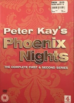 Peter Kay's Phoenix Nights: The Complete Series 1 and 2 DVD (2003) . Mint.