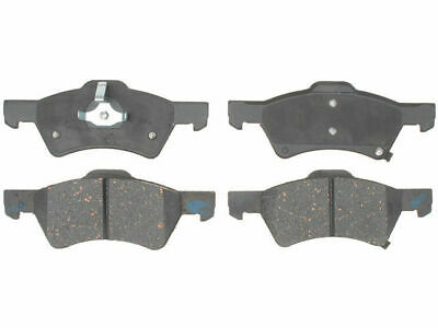 4X Front Brake Ceramic Pads For 2001 2002-2006 Chrysler Town /& Country Low Dust