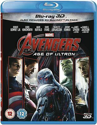Marvel's Avengers: Age of Ultron Collector's Edition, Blu-Ray + Blu-Ray 3D + Dig