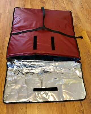 """Insulated 24"""" Pizza Man Delivery Carry Carrying Warmer Warming Deliver Bag Sack"""