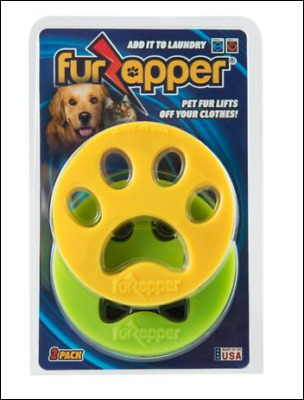 FURZAPPER 2-Pack Pet Hair Remover for Laundry Dog Hair Cat Fur Washer and Dryer
