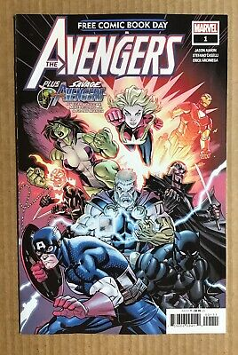The Avengers ~ 2019 Free Comic Book Day ~ FCBD ~ Unstamped