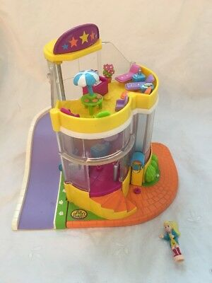 1999 Bluebird Polly Pocket POLLY AND THE POPS MUSIC MALL