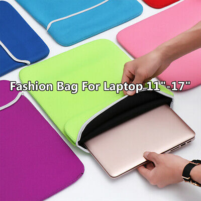New Laptop Bag Sleeve Case Cover Notebook Pouch For MacBook Air Pro Lenovo Dell