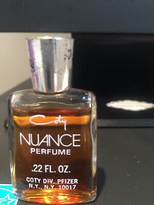 Nuance Authentic Perfume Miniature bottle pure perfume.22 oz Vintage Collectible