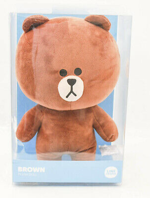 LINE FRIENDS Plush Figure Large Brown Character Design Stuffed Animal Toy
