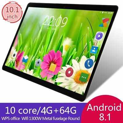 10.1 inch Android 8.1 4GB+64GB Tablet PC Ten-Core WIFI Bluetooth 13.0MP tablet