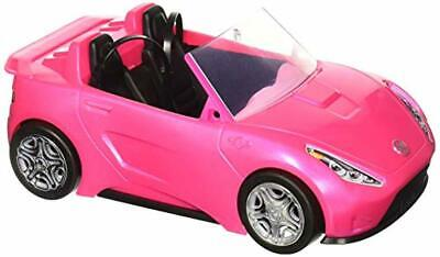 Barbie Glam Convertible Car with Realistic Seatbelt Kids Fun Play Toy Best Gift