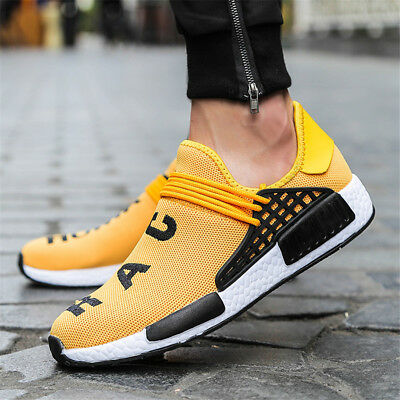 Hot Mens Womens Casual Trainers Mesh Sneakers Sports Athletic Running Shoes