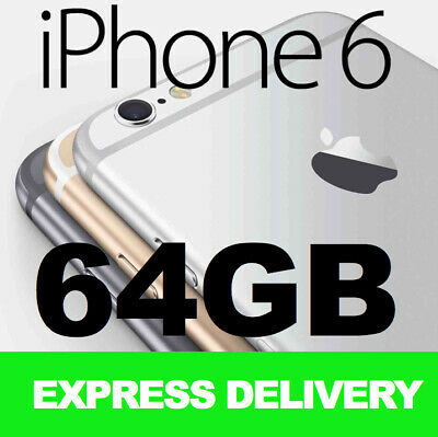 NEW Apple iPhone 6 64GB 4G LTE 100% GENUINE FACTORY UNLOCKED SMARTPHONE SALE!!!