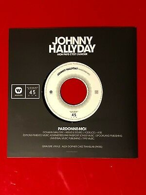Johnny Hallyday - Mon Pays C'est l'Amour - 45T - Collector NEUF - 2/5