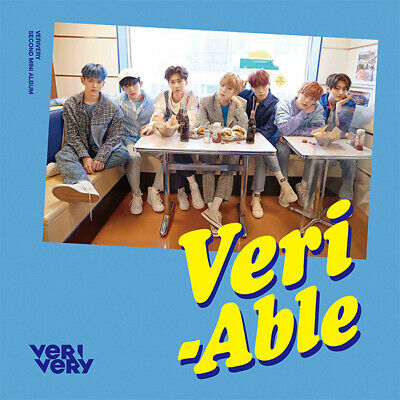 VERIVERY [VERI-ABLE] 2nd Mini Album OFFICIAL CD+Foto Buch+3p Karte K-POP SEALED