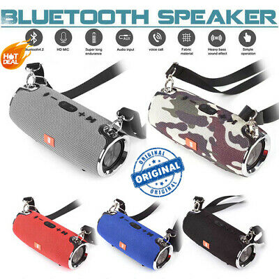 Bluetooth V4.2 Stereo Speaker Waterproof Wireless Portable 40W For MP3 Phone HOT