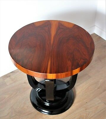 Beautiful Antique Art Deco Style Occational Side Table Rosewood