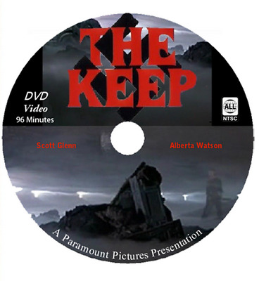 The Keep ~ RARE Classic Horror DVD 1983 ~ Scott Glen, (DISC ONLY), MOD DVDR