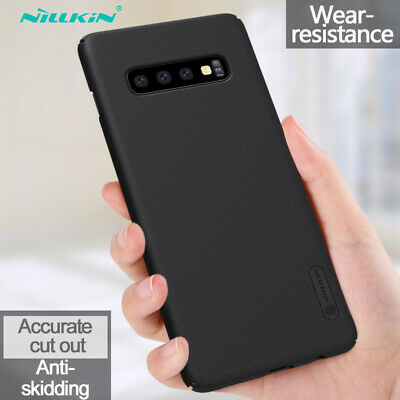 NILLKIN For Samsung Galaxy S10 Plus S10e Shockproof Frosted Shield Hard Case