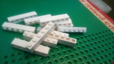 LEGO 3009 Bricks 1x6 White Pack of 50 Parts Pieces City L@@K!! Bundle