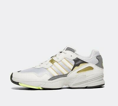 Mens Adidas YUNG-96 White/Grey Trainers RRP £84.99