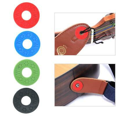 10pcs Guitar Strap Locks Rubber Safety Strap Lock Washer for Guitar Bass Parts