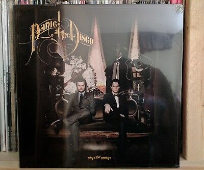 PANIC AT THE DISCO Vices & Virtues LP Splatter Fall Out Boy Weezer Hot Topic Ex