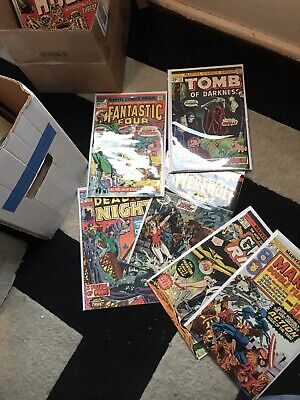 100 Random Comics Lot From Collection