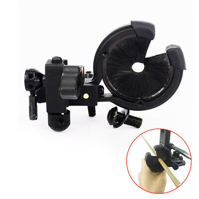 Arrow Rest Drop Away For Compound Bow Aluminum Alloy Stable Black Holder 2019