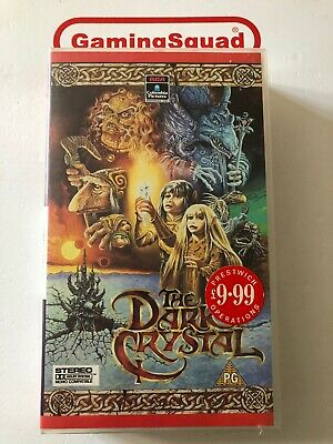The Dark Crystal VHS Video Retro, Supplied by Gaming Squad