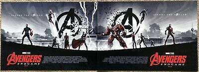 Avengers Endgame Posters 1 & 2 Matt Ferguson Odeon A3 New Genuine Official