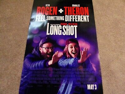 Long Shot Original Theatrical Poster 27x40 Seth Rogen Charlize Theron