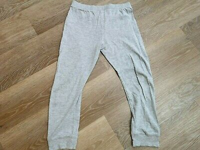 Girls F&F Grey Lounge Wear ThinGrey Bottoms Age - 7 to 8 Years