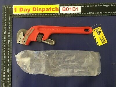 "Angled Pipe Wrench 12"" inches"