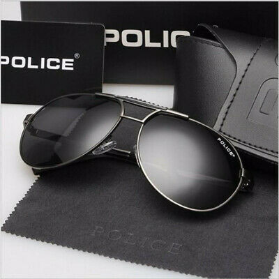 Police 8 Colors Men's Polarized UV400 Sunglasses Driving Glasses 8480