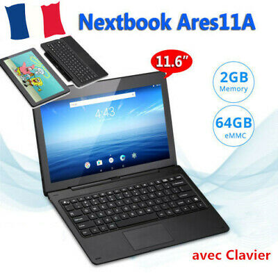 """Nextbook Ares11A 11.6"""" HD Tablette 2+64Go Android 6.0 Intel Bluetooth Tablet PC"""
