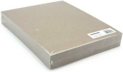 Grafix 8.5 x 11-inch Medium Weight Chipboard Sheets, Pack of 25, Natural...