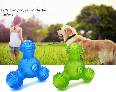 Pet cleaning molar dog Teeth Cleaning Brush Toy For triangle leak food training