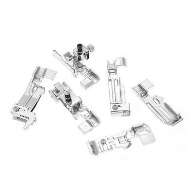 1X(6 Pieces Overlock Foot Presser Foot For Sewing Machines Brother M3034D, H9E7