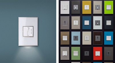 Legrand Adorne Wall Plates, many colors and sizes