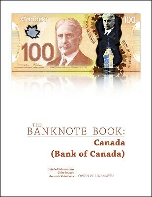 Canada chapter PDF from best catalog of world notes, The Banknote Book