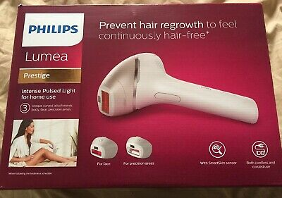 PHILIPS Lumea BR1953 Prestige IPL Hair Removal Device for Body & Face Brand New