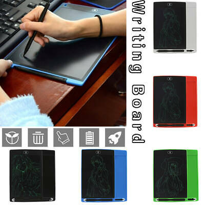 "8.5"" LCD Electronic Writing Tablet With Magnets Message Board Pad Handwriting"