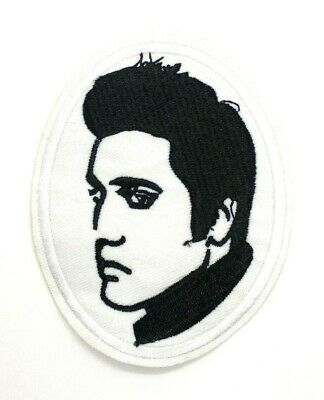 Elvis Presley King of Rock & Roll Music Retro American Singer Iron on Patch 489